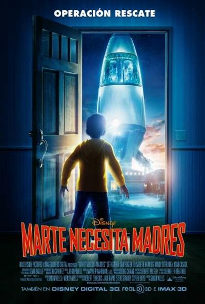 Marte necesita Madres [DVDRip] [Castellano] [2011]
