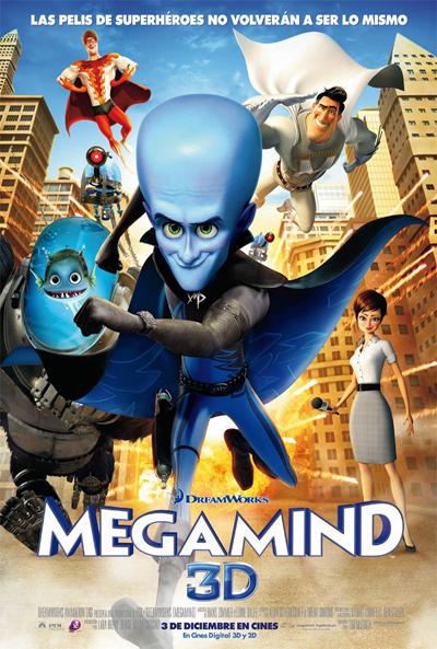 Cartel de Megamind (Megamind)