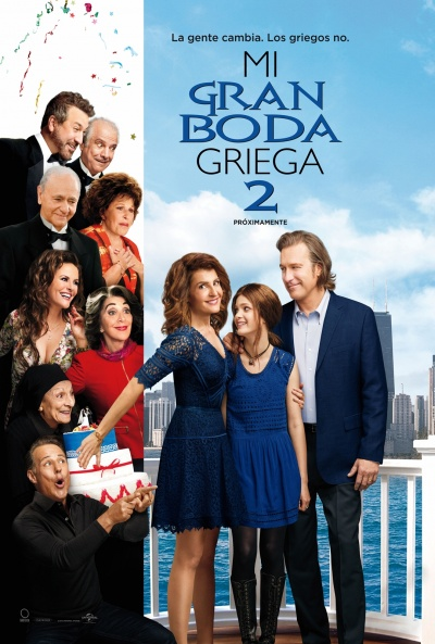 Cartel de Mi gran boda griega 2 (My Big Fat Greek Wedding 2)