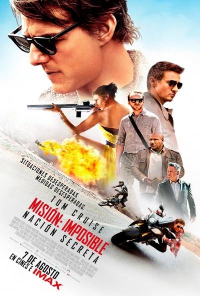 Cartel de Misión Imposible: Nación secreta (Mission:Impossible - Rogue Nation)