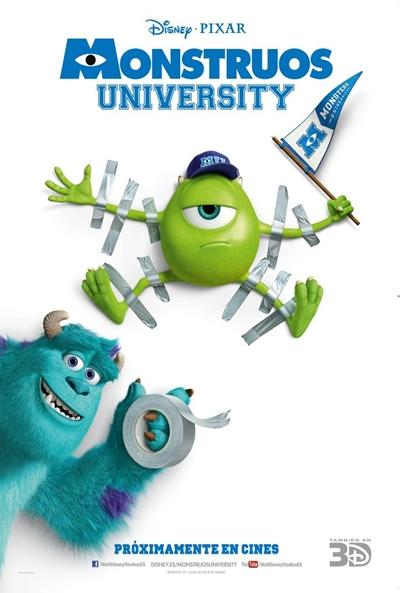 Monsters University (2013) TSHQ XviD Audio Latino