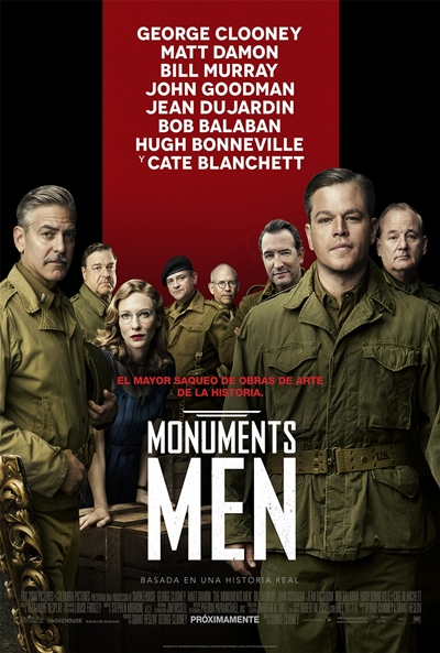 Cartel de Monuments men (The Monuments Men)