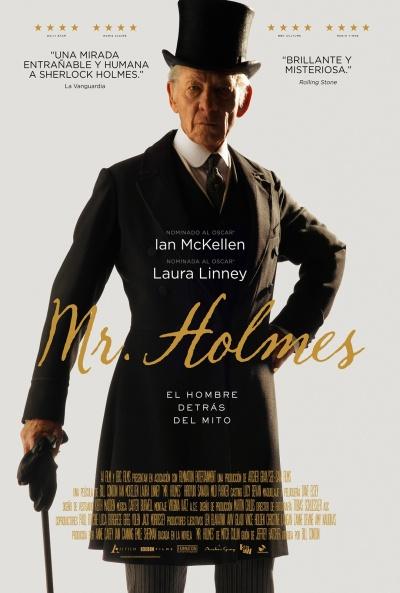 Cartel de Mr. Holmes (Mr. Holmes)