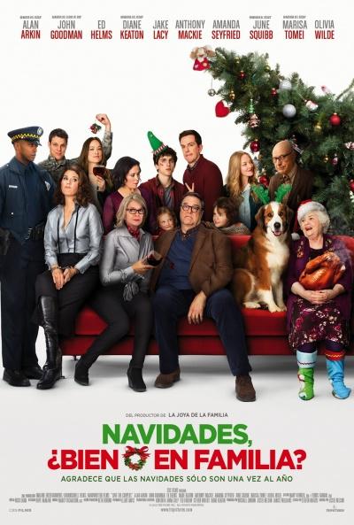 Cartel de Navidades, ¿bien o en familia? (Love the Coopers)