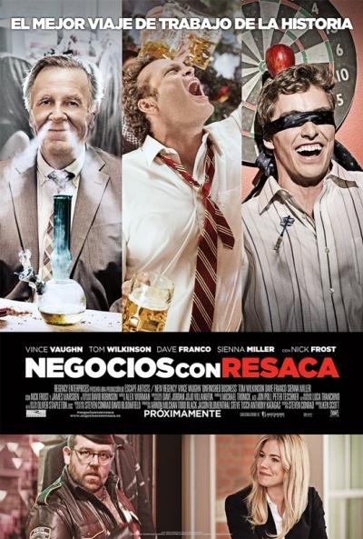 Cartel de Negocios con resaca (Unfinished Business)