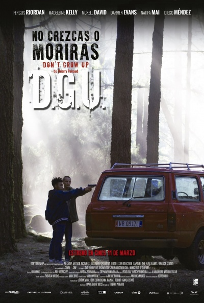 Cartel de No crezcas o morirás (Don't Grow Up)