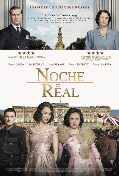 Cartel de Noche real (A Royal Night Out)