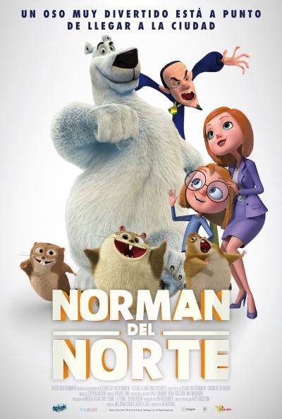 Cartel de Norman del Norte (Norm of the North)