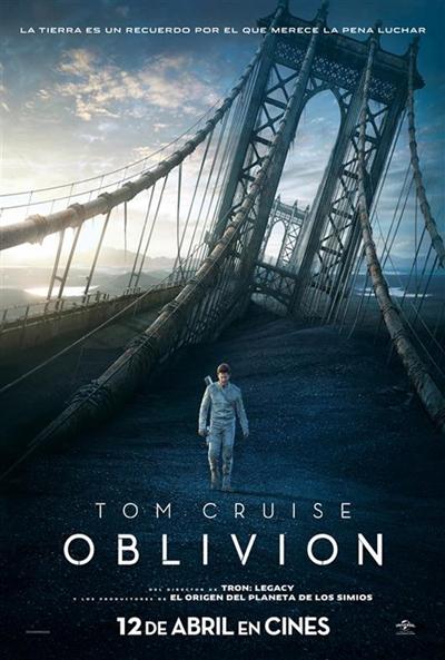 Cartel de Oblivion (Oblivion)