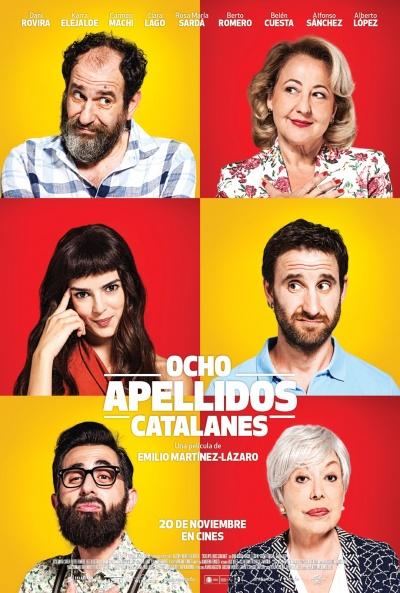 Cartel de Ocho apellidos catalanes (Ocho apellidos catalanes)