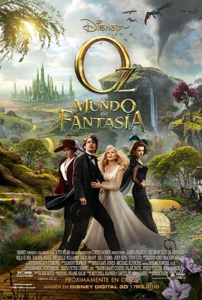 Oz, mundo fantasía
