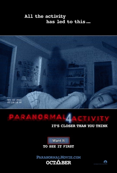 Póster de  (Paranormal Activity 4)