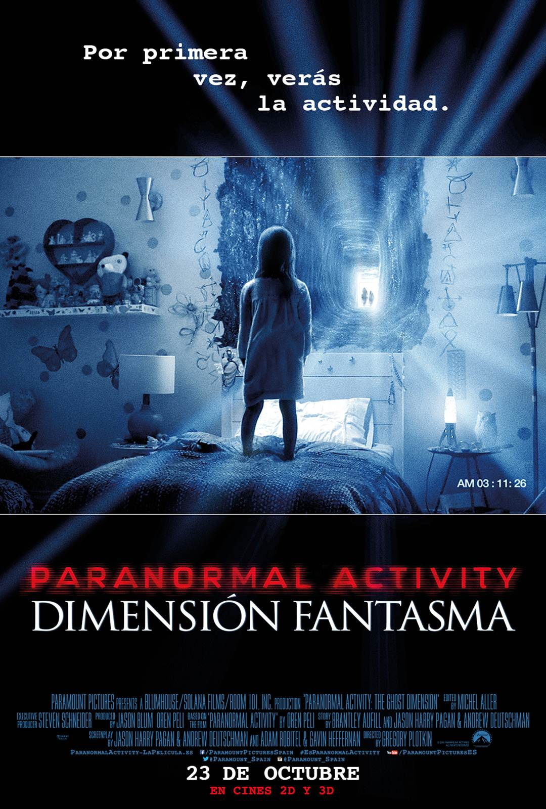 Paranormal Activity 5: The Ghost Dimension (V.O.S) (2015)