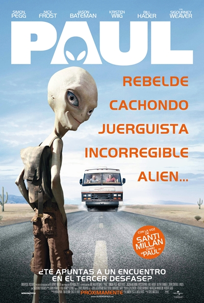 Paul UNRATED [BRRip] [Español Latino] [2011]
