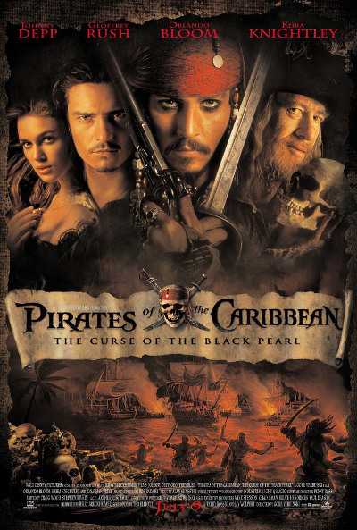 Póster de Piratas del Caribe: La maldición de la Perla Negra (Pirates of the Caribbean: The Curse of the Black Pearl)