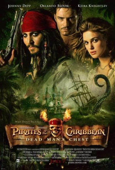 Póster de Piratas del Caribe: El cofre del hombre muerto (Pirates of the Caribbean: Dead Man's Chest)