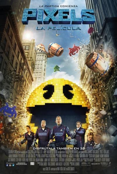 Cartel de Pixels: La película (Pixels)