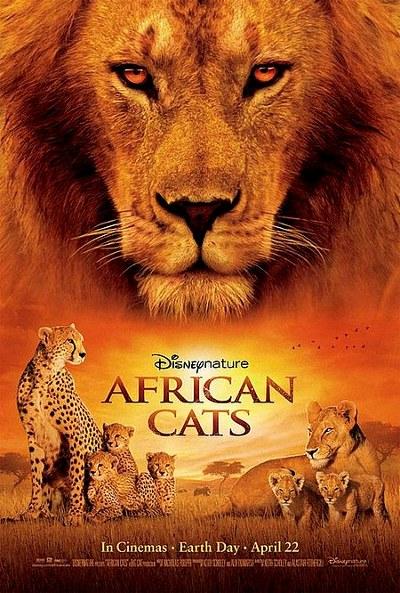 Estrenos de cine [31-02/08-09/2011]   Posterafricancats_7675