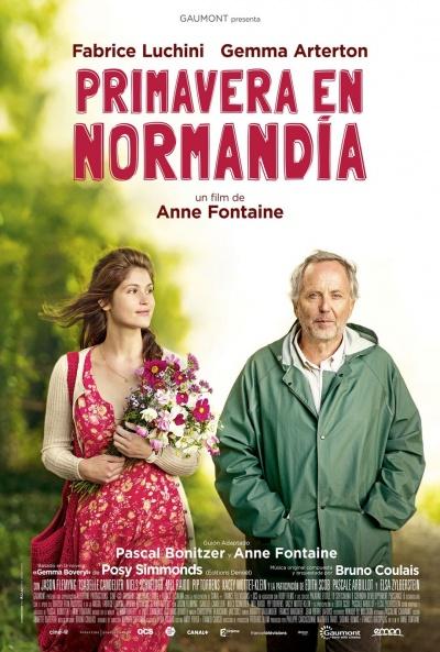 Cartel de Primavera en Normandía (Gemma Bovery)