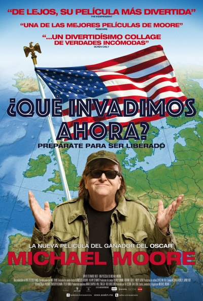 Cartel de ¿Qué invadimos ahora? (Where to Invade Next)