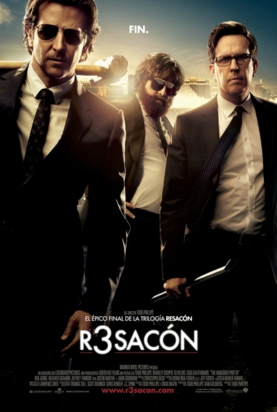 Cartel de R3sacón (The Hangover Part III)