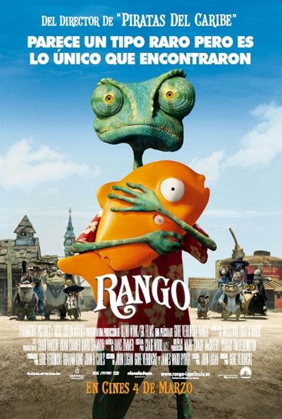 Cartel de Rango (Rango)