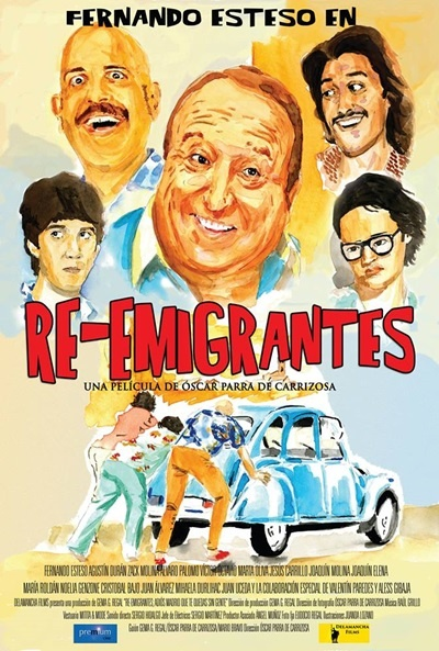 Cartel de Re-emigrantes (Re-emigrantes)