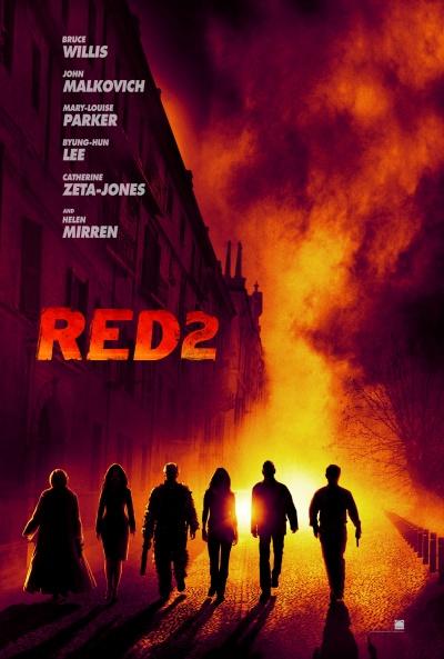 Téaser Póster de  (RED 2)