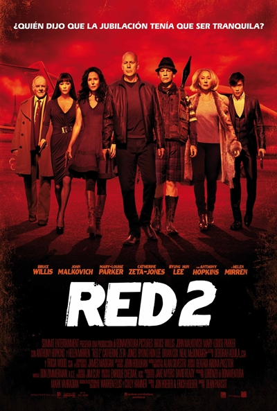 Cartel de RED 2 (RED 2)