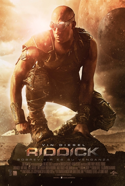 Cartel de Riddick (Riddick)