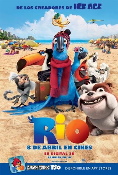 Rio (2011) [Animacion] [TS-Screener HQ] [Castellano]