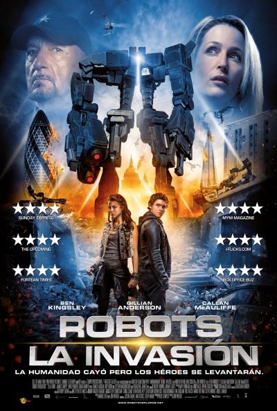 Cartel de Robots: La invasión (Robot Overlords)