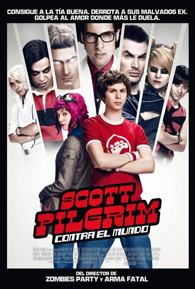 Cartel de Scott Pilgrim contra el mundo (Scott Pilgrim vs. the World)