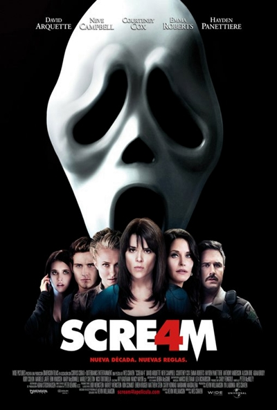 Cartel de Scream 4 (Scream 4)