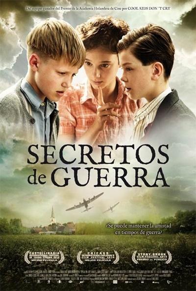 Cartel de Secretos de guerra (Oorlogsgeheimen)