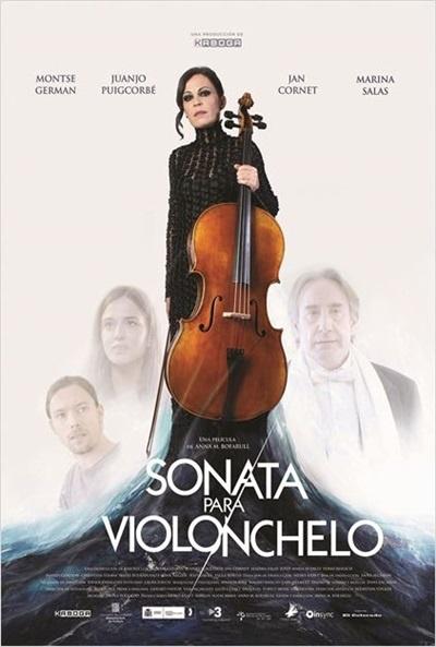 Cartel de Sonata para violonchelo (Sonata per a violoncel)