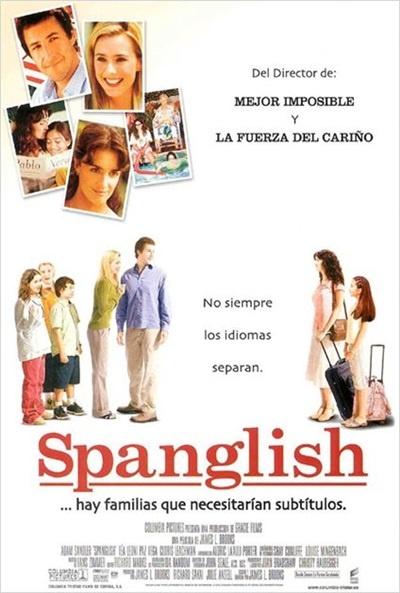 Cartel de Spanglish (Spanglish)