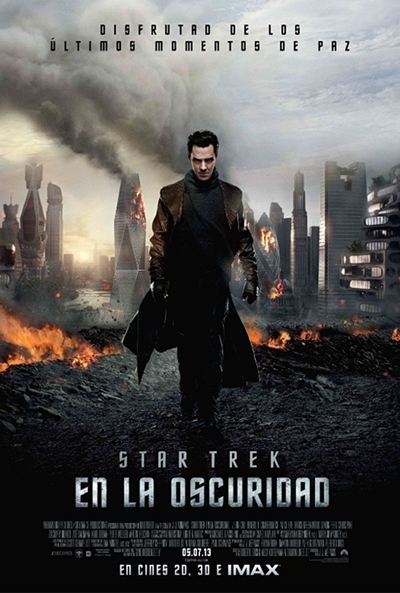 Cartel de Star Trek: En la oscuridad (Star Trek Into Darkness)