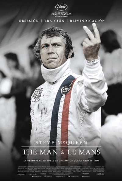 Cartel de Steve McQueen: The Man & Le Mans (Steve McQueen: The Man & Le Mans)