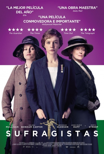 Cartel de Sufragistas (Suffragette)