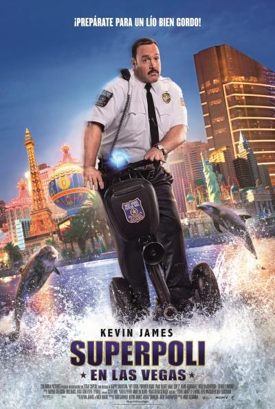 Cartel de Superpoli en Las Vegas (Paul Blart: Mall Cop 2)