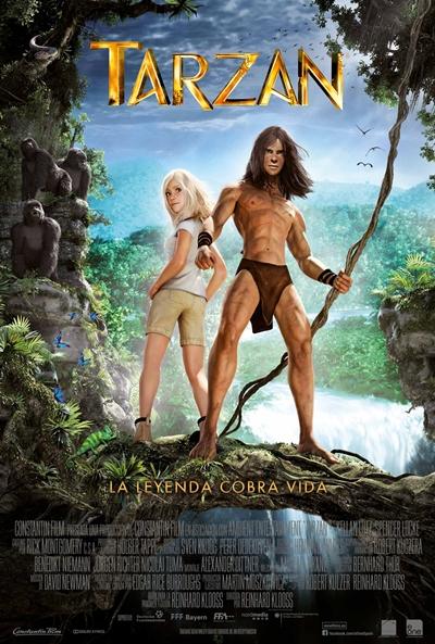 Cartel de Tarzán (Tarzan)