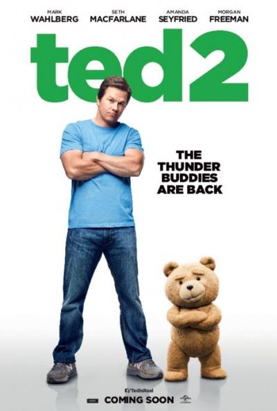Cartel de Ted 2 (Ted 2)