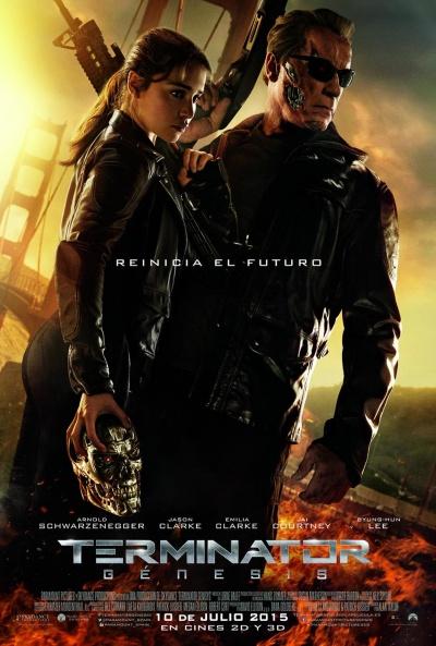 Cartel de Terminator: Génesis (Terminator: Genisys)