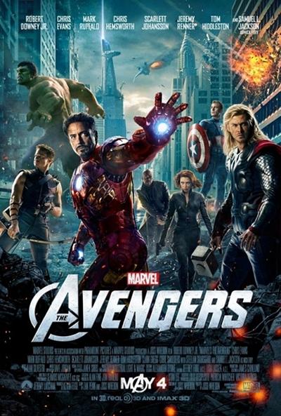 P�ster de Los Vengadores (The Avengers)