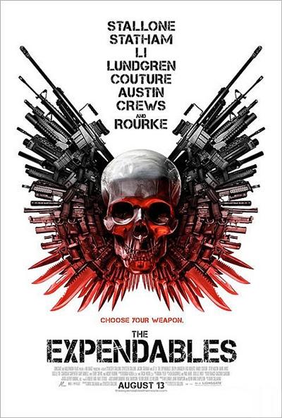 Cartel de Los mercenarios (The Expendables)