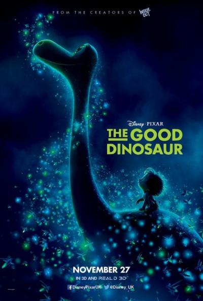 P�ster de El viaje de Arlo (The Good Dinosaur)