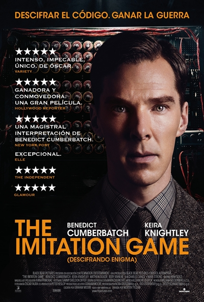 Cartel de The Imitation Game (Descifrando Enigma) (The Imitation Game)
