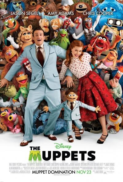 Póster de Los Muppets (The Muppets)