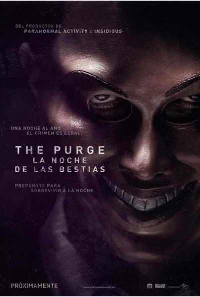 Cartel de The Purge. La noche de las bestias (The Purge)